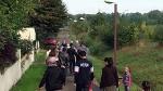 Parcours dans la commune - Hommage à Michel Chartier - 1er octobre 2016