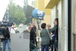 Tournage du film Belles familles, quartier de la Brosse